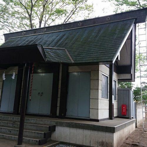 船橋市,印内春日神社,屋根工事